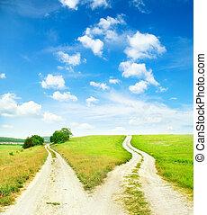 routes, croix