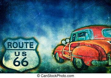 routez-en 66, nous