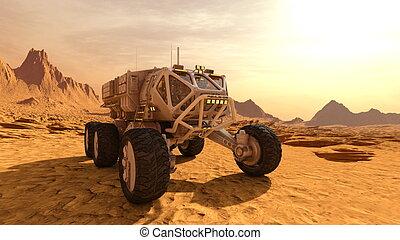 rover, raum
