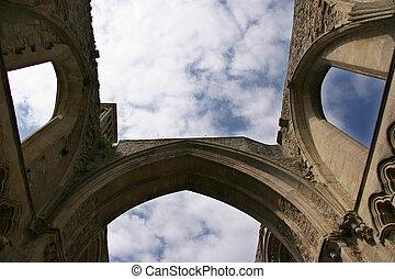 rovine, abbazia
