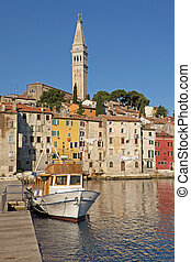 Rovinj. Croatia. (Vertically)