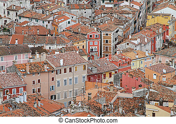Rovinj roofts