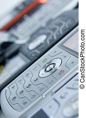 Row Of Phones