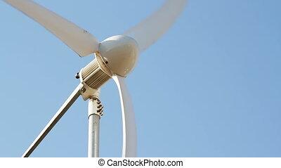 Row of wind power generator