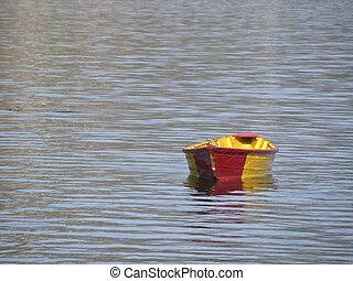 Rowboat on Lake