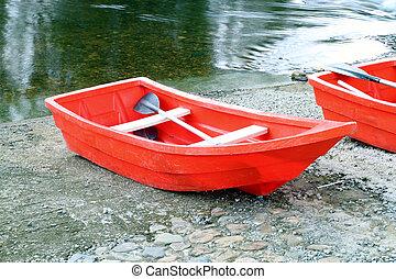 rowboat, rotes