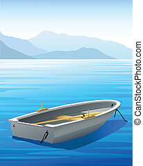 Rowboat - Vector