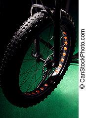 rower, czarnoskóry, wheel.
