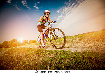 rower, kobiety