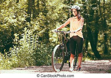 rower, młody, samica