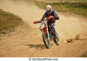 rower, motocross