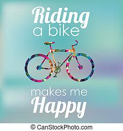 rower, projektować