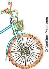 rower, szablon