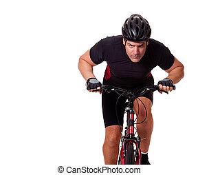 rowerzysta, jeżdżenie rower
