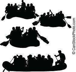rowings, ベクトル, -, コレクション