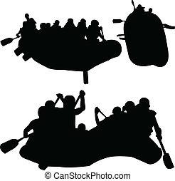 rowings, vettore, -, collezione