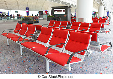 rows of empty seats