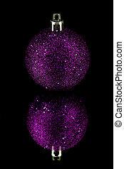 roxo, decoração, pretas, natal