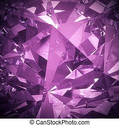 roxo, diamante, fundo