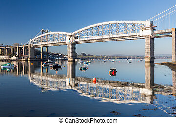 Saltash Passage Plymouth Devon - Royal Albert Bridge ...