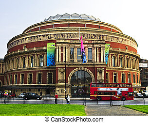 Royal Albert Hall in London - Royal Albert Hall building in...