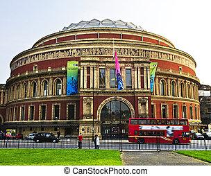 Royal Albert Hall in London - Royal Albert Hall building in...