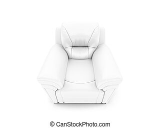 royal armchair front view