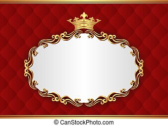 background - royal background with decorative frame