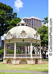 Royal Bandstand, Honolulu, Hawaii