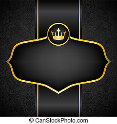 Royal black background