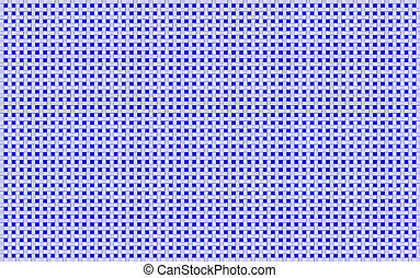 Royal Blue White Woven Basketweave Background