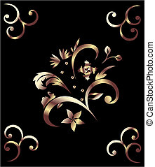 Royal bronze pattern
