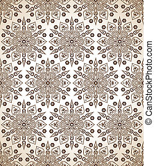 Royal brown seamless wallpaper