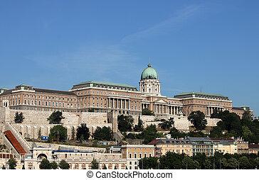 Royal castle Budapest Hungary