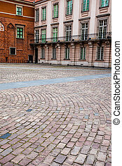 Royal Castle in the old town of Warsaw, Poland