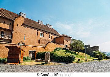 Royal Castle of Esztergom in Hungary
