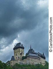 Royal castle of Karlstejn, Czech Republic