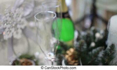 royal christmas drink champagne