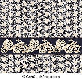 Royal classic ornament pattern