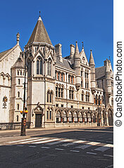 Royal Courts of Justice in London - Royal Courts of Justice...