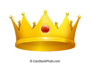 Royal crown, eps10