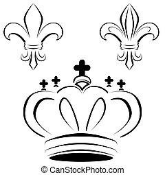 Royal Crown Fleur Art