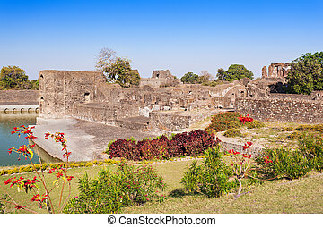 Royal Enclave in Mandu, Madhya Pradesh, India