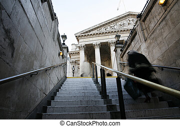 Royal Exchange - The Royal Stock Exchange, London, England,...