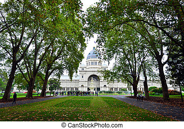 Royal Exhibition Building - Melbourne - MELBOURNE - APR 11...