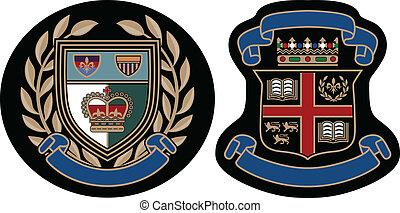 royal fashion college badge