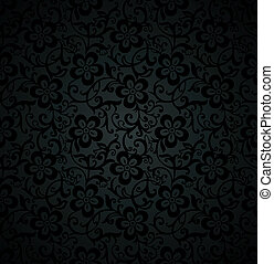 Royal floral seamless background