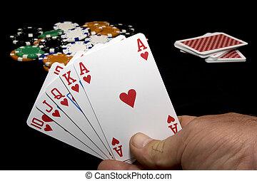 Royal flush, Poker Hand
