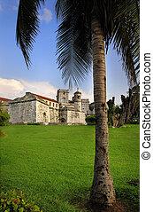 """A view of """"Castillo de la real Fuerza"""" in Old Havana, Cuba"""