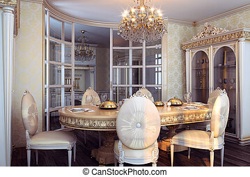 Royal furniture baroque interior - Royal furniture in luxury...
